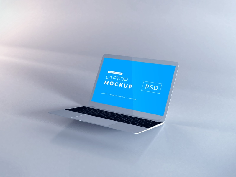 Download Macbook Air Mockup Vol 9 macos mac apple macbook device notebook template technology display mockup screen laptop scene creator computer