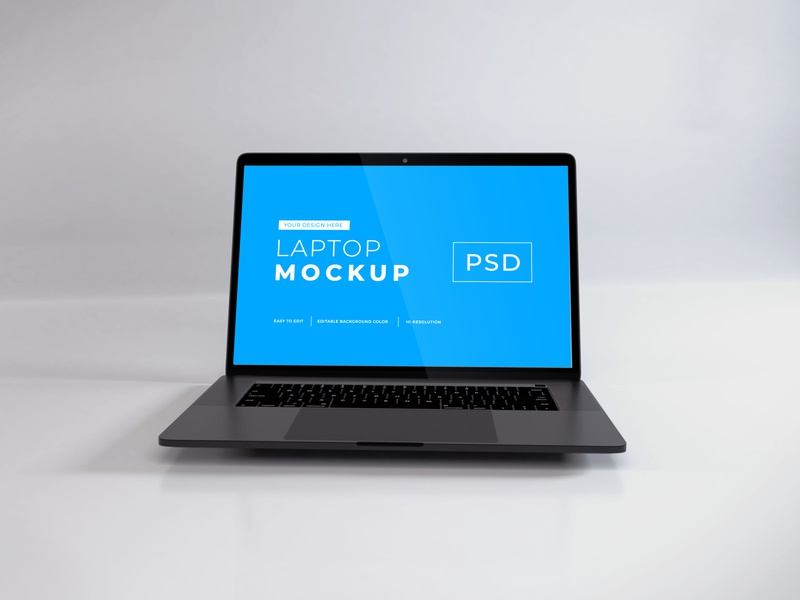 Download Macbook Pro Mockup Vol 9 macos mac apple macbook device notebook template technology display mockup screen laptop scene creator computer