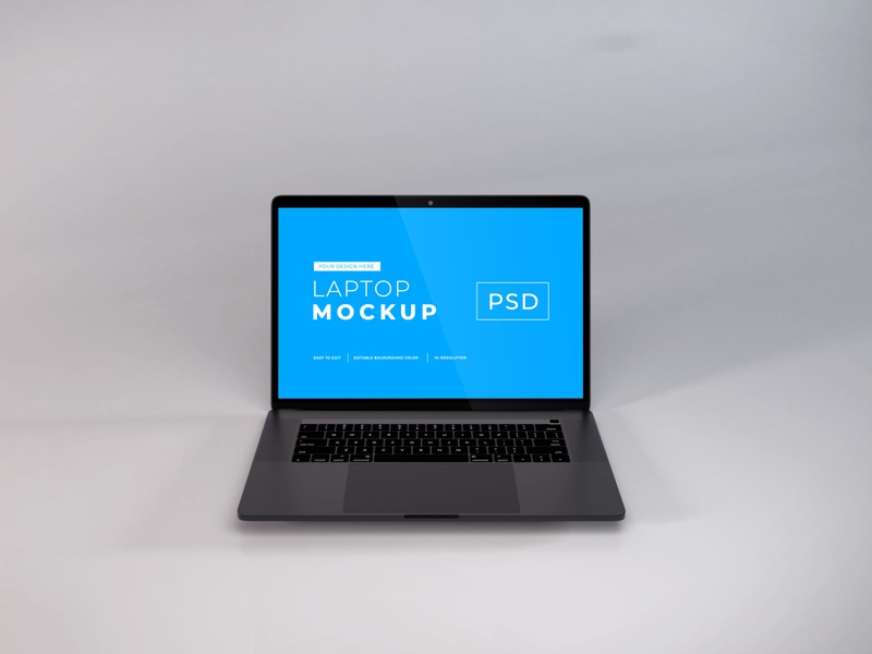 Download MacBook Pro Mockup Vol 10 (Freebie) macos mac apple macbook device notebook template technology display mockup screen laptop scene creator computer