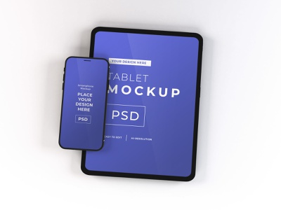 Download iPad & iPhone Mockup Vol 11 tablet 3d electronic iphone cellphone gadget mockup device screen mobile technology template smartphone ipad
