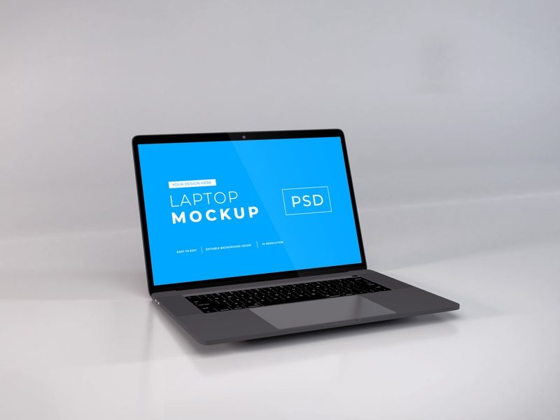 Download MacBook Pro Mockup Vol 11 macos mac apple macbook device notebook template technology display mockup screen laptop scene creator computer