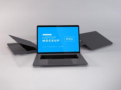Download MacBook Pro Mockup Vol 12 template premium photoshop mockup