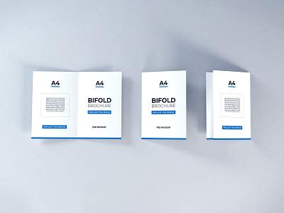 Download Bifold Brochure Vol 11 template premium photoshop mockup brochure bifold