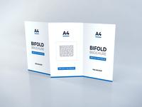 Download Bifold Brochure Vol 11.2 template premium photoshop mockup brochure