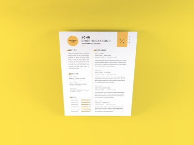 Download Curriculum Vitae Mockup Vol 13 3d paper cv vitae template photoshop mockup