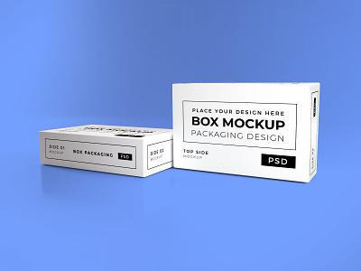 Download Long Box Mockup Vol 13 template premium photoshop packaging mockup box