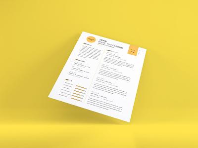 Download Curriculum Vitae Mockup Vol 14 paper design clean cv vitae template photoshop mockup