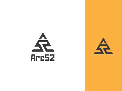 Arc 52 Logo Design Concept simple minimal website icon branding business element logo design illustrator vector concept design logo