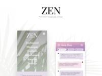 ZEN messaging app