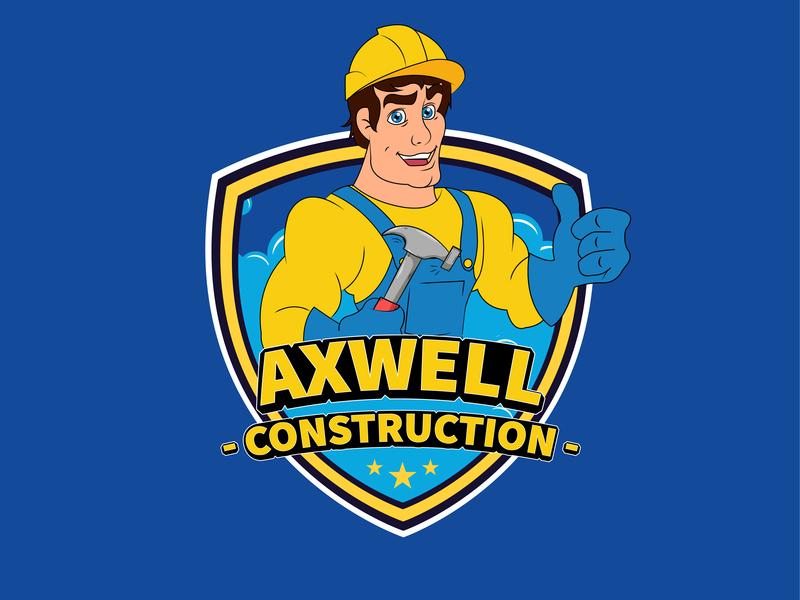 construction logo design cartoon logo logo deisgn construction logo design