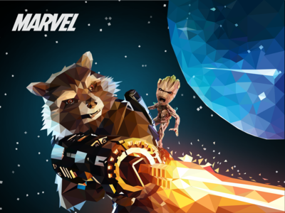 Rockets and Groot