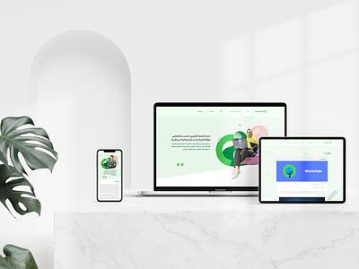 UI Design Narvan Website website ui branding flatdesign uidesign ui  ux design design