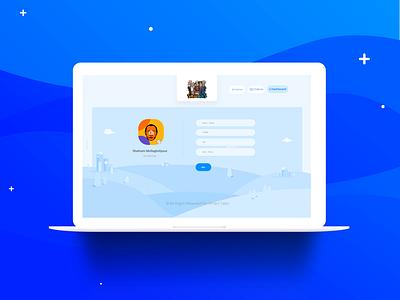 Smart Tales Website flat design website design webdesign branding vector art design uidesign ui