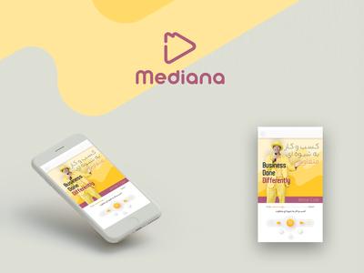 UI UX  design  |  Player 1.1.1  Mediana