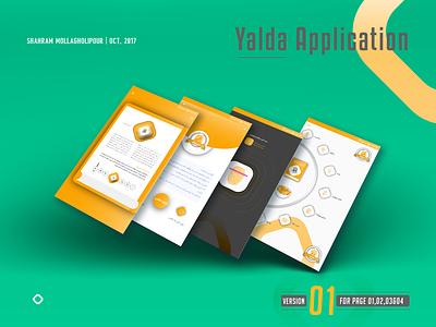 Ui Application Yalda uixdesign uix applicaiton ui design uidesign ui  ux ui application app