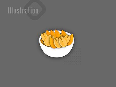 Illustration Ui Application Yalda app flatdesign vector illustration vector art vectorart vector illustration