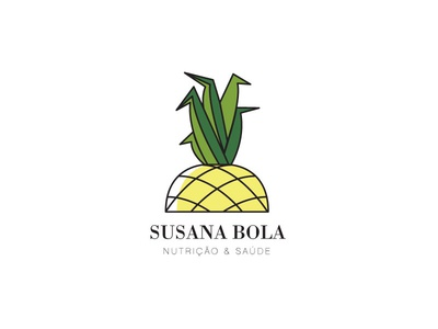 Nutritionist logo portugal vector logo health pineapple logotype logo nutritionist