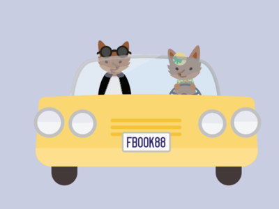 Varada Gavaskar Projects Fox Transportation Illustrations Dribbble
