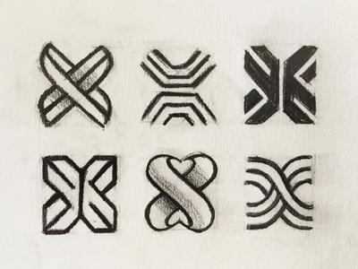 x letter (rough sketches)