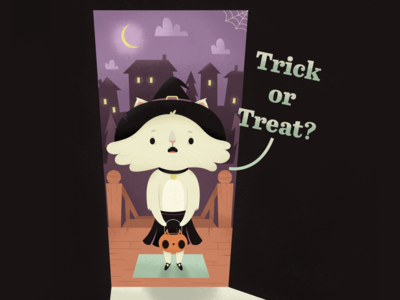 Trick of Treat? | Full Illustration