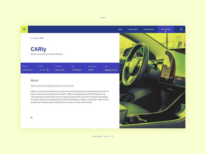 Daily UI #051 - Press Page uxdesign uidesign ui  ux uxui ux ui design interface design page design page layout website concept webdesign uiuxdesign dailyui uiux interface web design page website web