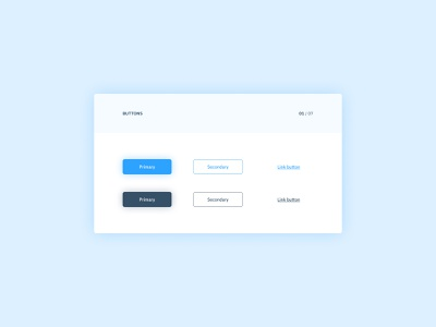 Daily UI #083 - Button(s) webdesign web app interfacedesign button states button design minimalist web design interface design app design ui design design system library component ui component uidesign button design interface ux ui