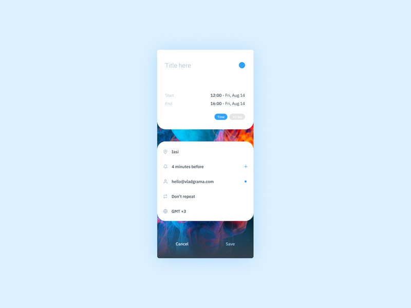 Daily UI #090 - Create new create new mobile application mobile design mobile ui ux design ios mobile interface mobile app design interface design date calendar task event app calendar app mobile app dailyui ui design ux ui interface