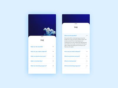 Daily UI #092 - F.A.Q. product design interfacedesign menu ux design ui design ui  ux dailyui interface design mobile interface interface android ios mobile ui ux mobile design design app mobile app ui faq