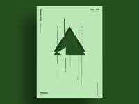GREEN - Minimalist poster design