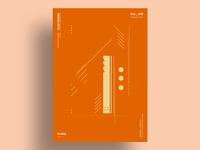 RUST - Minimalist poster design