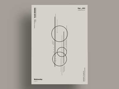 ORBIT - Minimalist poster design
