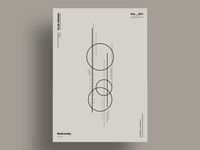 ORBIT - Minimalist poster design
