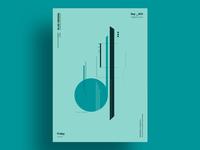 HEAVY - Minimalist poster design