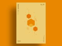 EMBER - Minimalist poster design