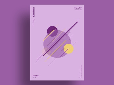SERENDIPITY - Minimalist poster design