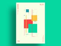 COMPACT - Minimalist poster design