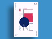 CONSTRAST - Minimalist poster design