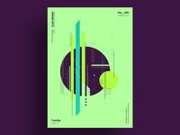 CROWDED - Minimalist poster design