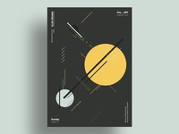 SATELLITE - Minimalist poster design
