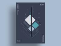 ICE - Minimalist poster design