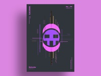 HACKER - Minimalist poster design