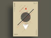 CONSUME - Minimalist poster design