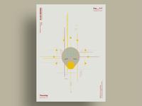 IRIS - Minimalist poster design