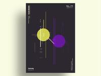 DECAYS - Minimalist poster design