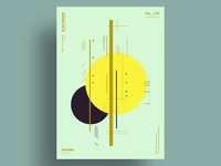 BUMBLEBEE - Minimalist poster design