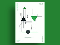 VIGILANTE - Minimalist poster design