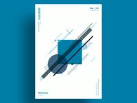 COBALT - Minimalist poster design