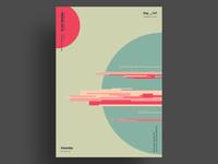 DEBRIS - Minimalist poster design