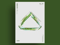 TETRAHEDRON - Minimalist poster design