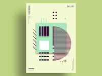 OVEN - Minimalist poster design